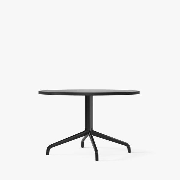 Harbour Column Lounge Table Ø80 | Black