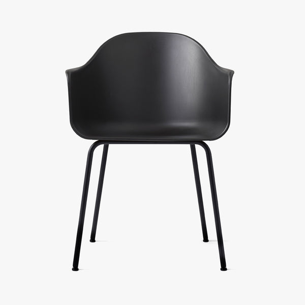 Harbour Chair | Shell / Black Steel