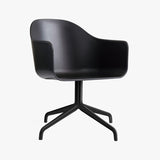 Harbour Chair | Black, Swivel
