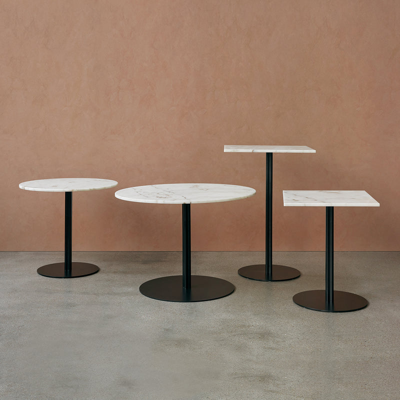 Harbour Column Dining Table Ø105 | Offwhite