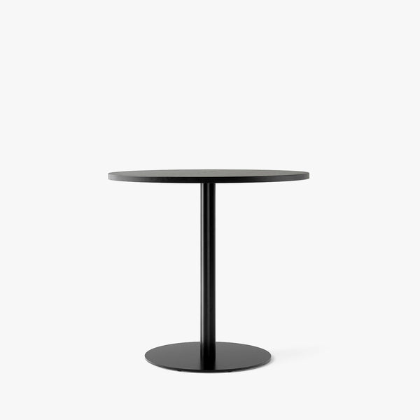 Harbour Column Dining Table Ø80 | Black