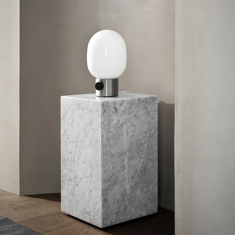 JWDA Table Lamp | Brushed Steel