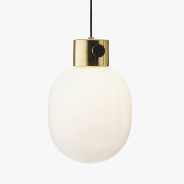 JWDA Pendant | Polished Brass