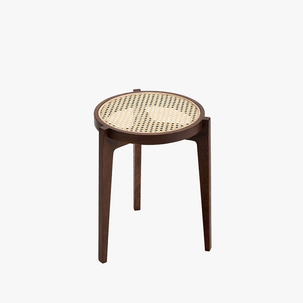 Le Roi Stool | Dark Stained