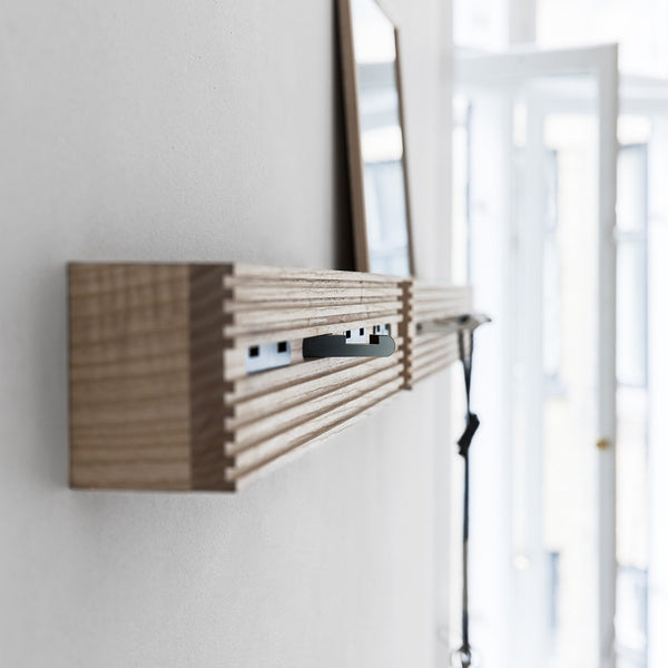 Line-up Wall Rack | Black