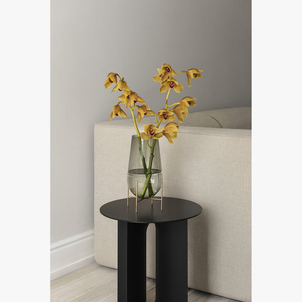 Androgyne Side Table | Black Steel