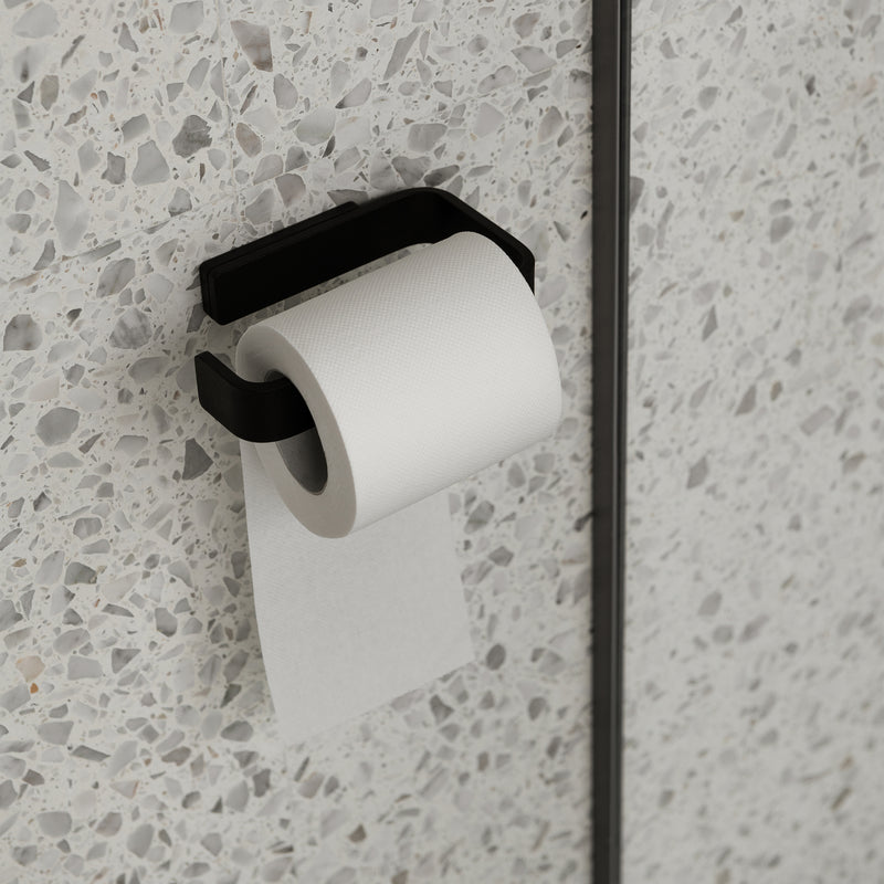 Norm Toilet Roll Holder | Black