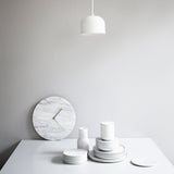 Marble Wall Clock | White