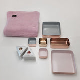 Metal Tray | Copper/Grey (L)