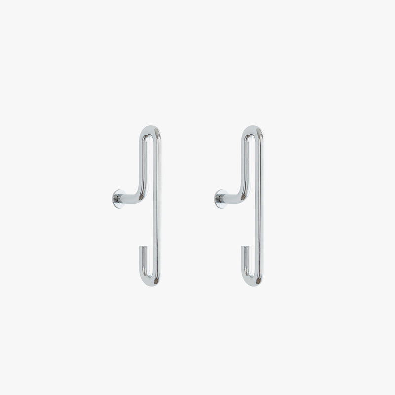 Wall Hook | Chrome, Small (x2)