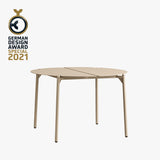 NOVO Lounge Table | Taupe
