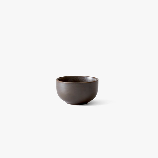 New Norm Bowl Ø7.5 cm | Dark Glazed