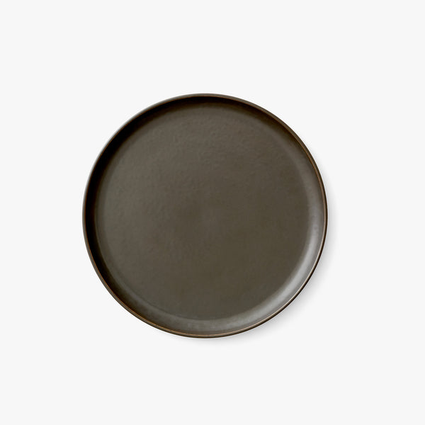 New Norm Plate Ø23 cm | Dark Glazed