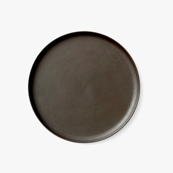 New Norm Plate Ø27 cm | Dark Glazed