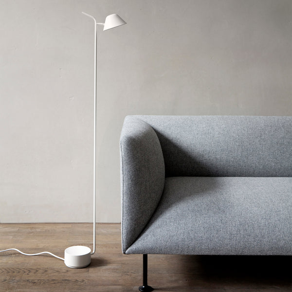 Peek Floor Lamp | White