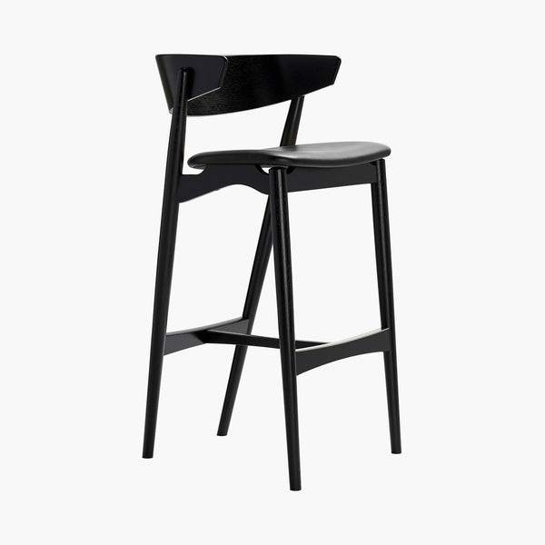 Sibast No 7 Barchair, High | Black