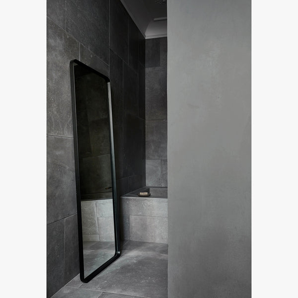 Norm Floor Mirror | Black