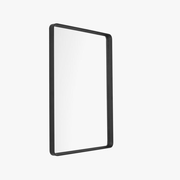Norm Rectangular Wall Mirror | Black