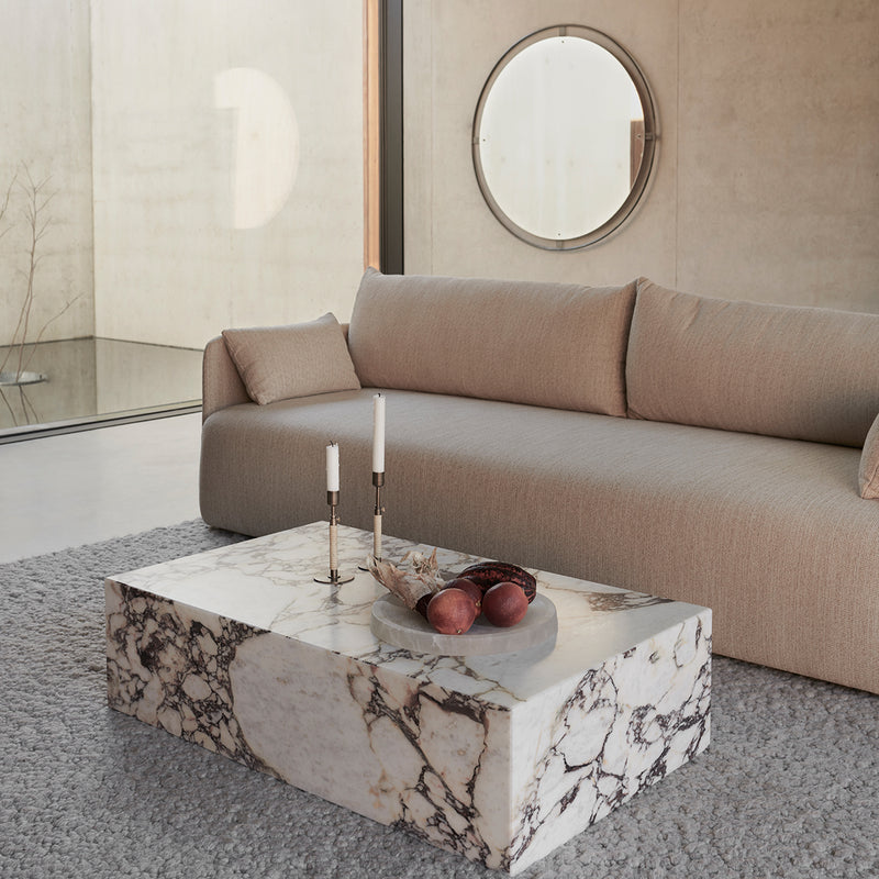 Offset Sofa, 3 Seater | Beige