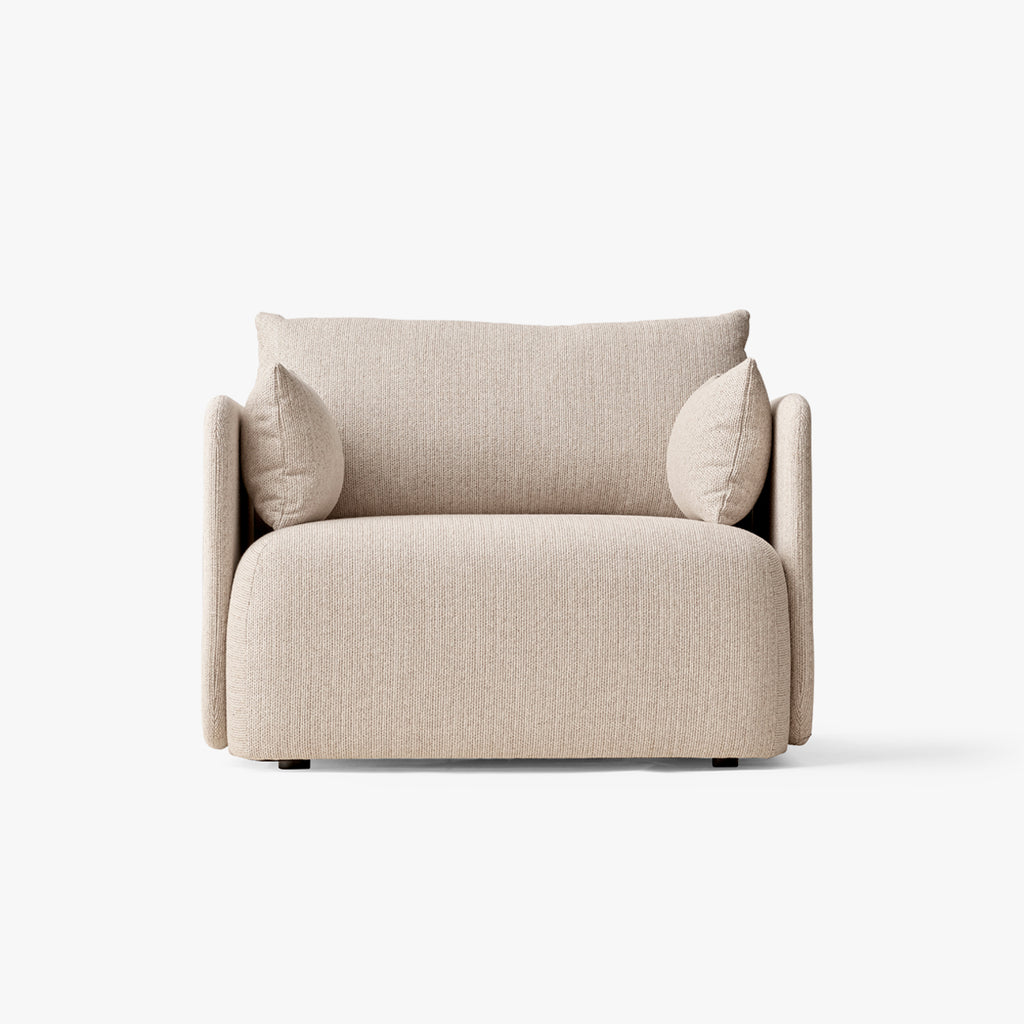 Offset Sofa, 1 Seater