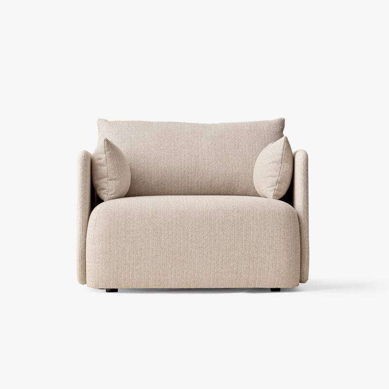 Offset Sofa, 1 Seater | Beige