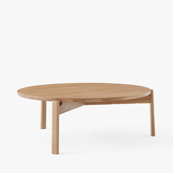 Passage Lounge Table Ø90 | Natural