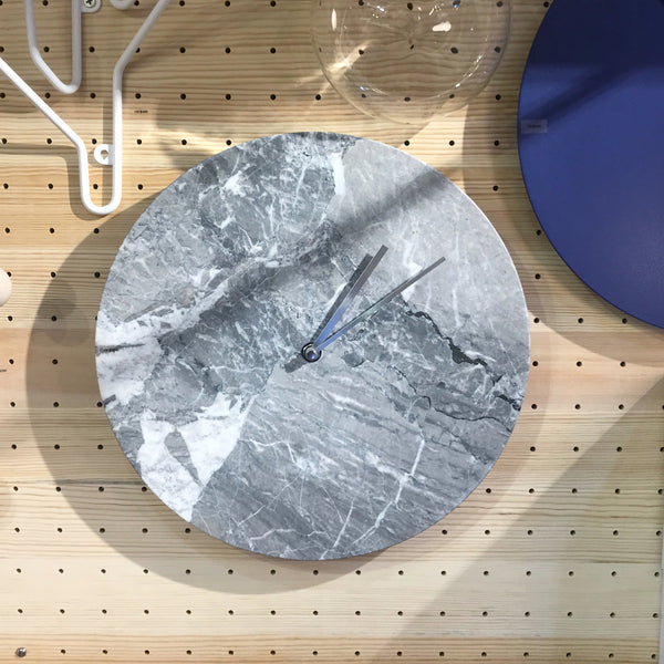 Marble Wall Clock | Grey