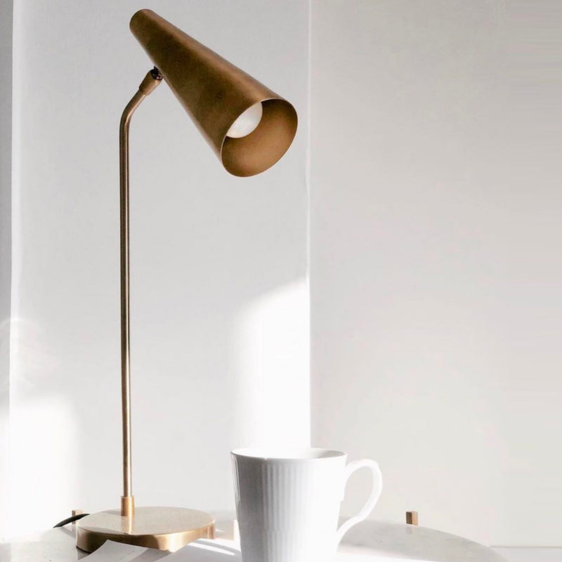 Precise Table Lamp | Brass