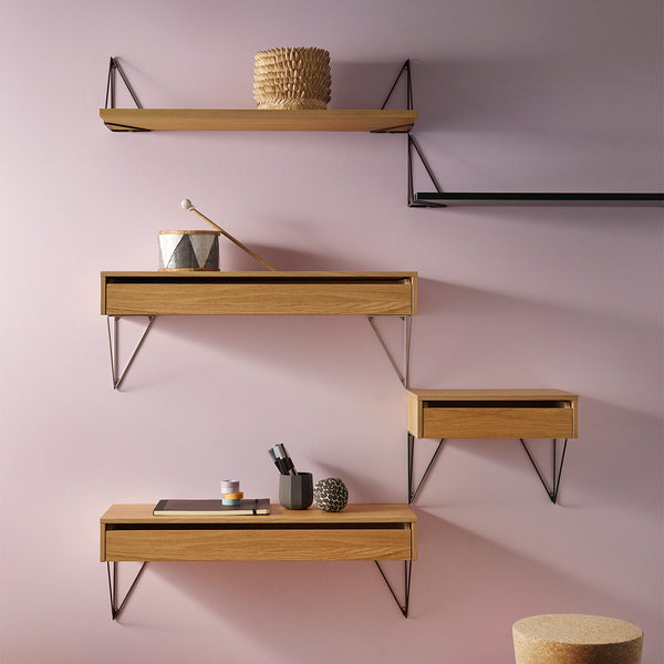 Pythagoras Shelf | Oak (L)