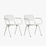 Ray Dining Chair (2pcs) | White