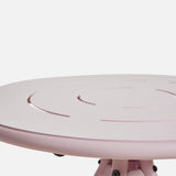 Ray Dining Table (Round) | Rose Pink