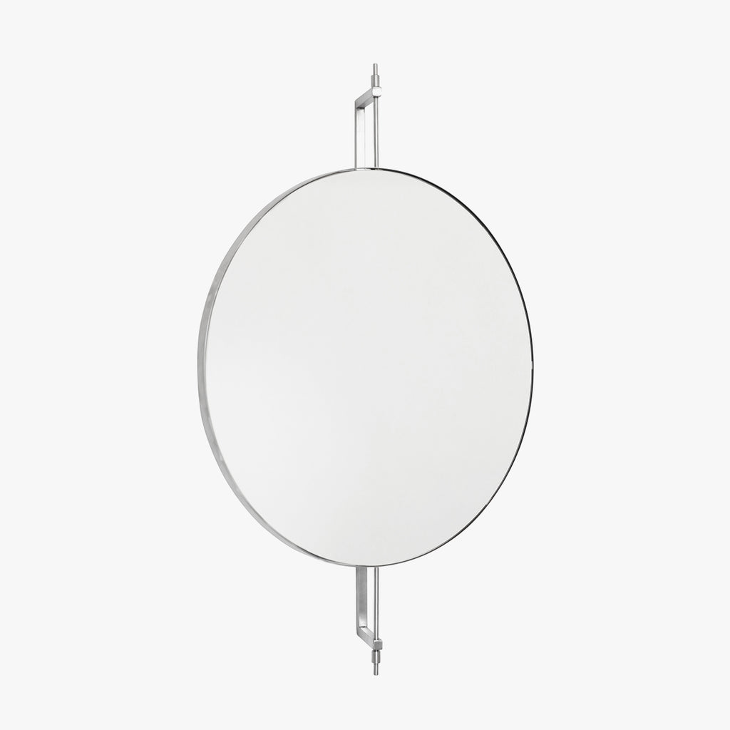 Rotating Mirror, Stainless Steel
