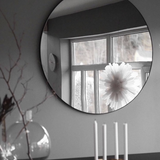 CIRCUM Mirror Ø110 | Clear/Black