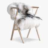 Icelandic Natural Grey Sheepskin