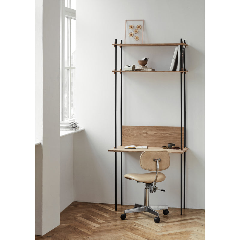 Shelving System - Tall with Desk