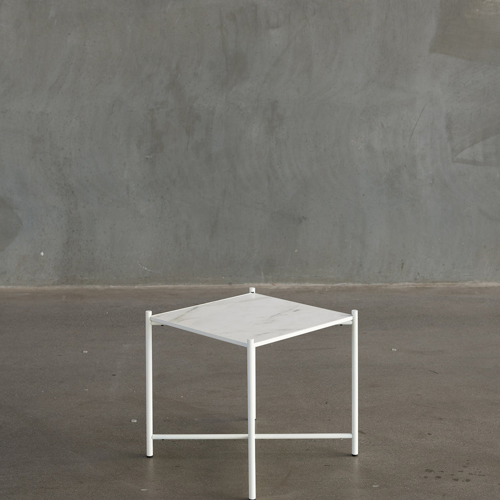 Handvärk Side Table - White