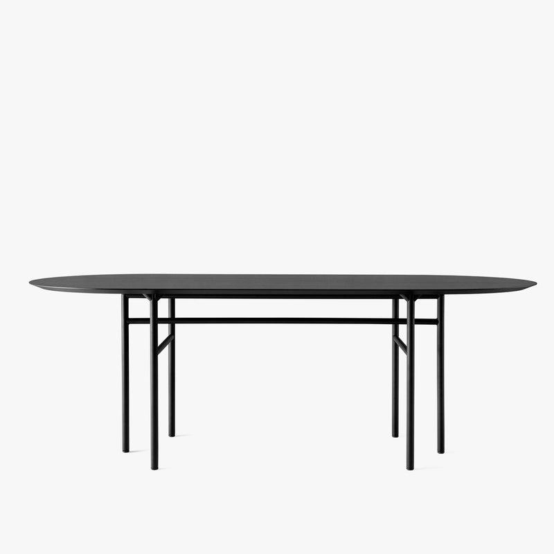 Snaregade Table - Oval | Black