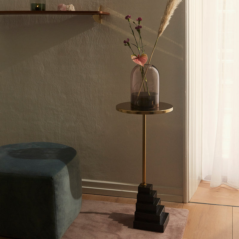 SOLUM Side Table | Gold
