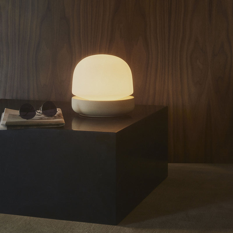 Stone Table Lamp | Sand
