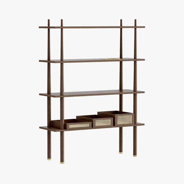 Stories Shelf | Dark Oak