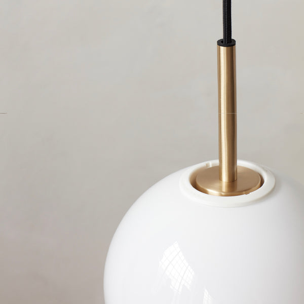 TR Bulb Pendant | Brushed Brass