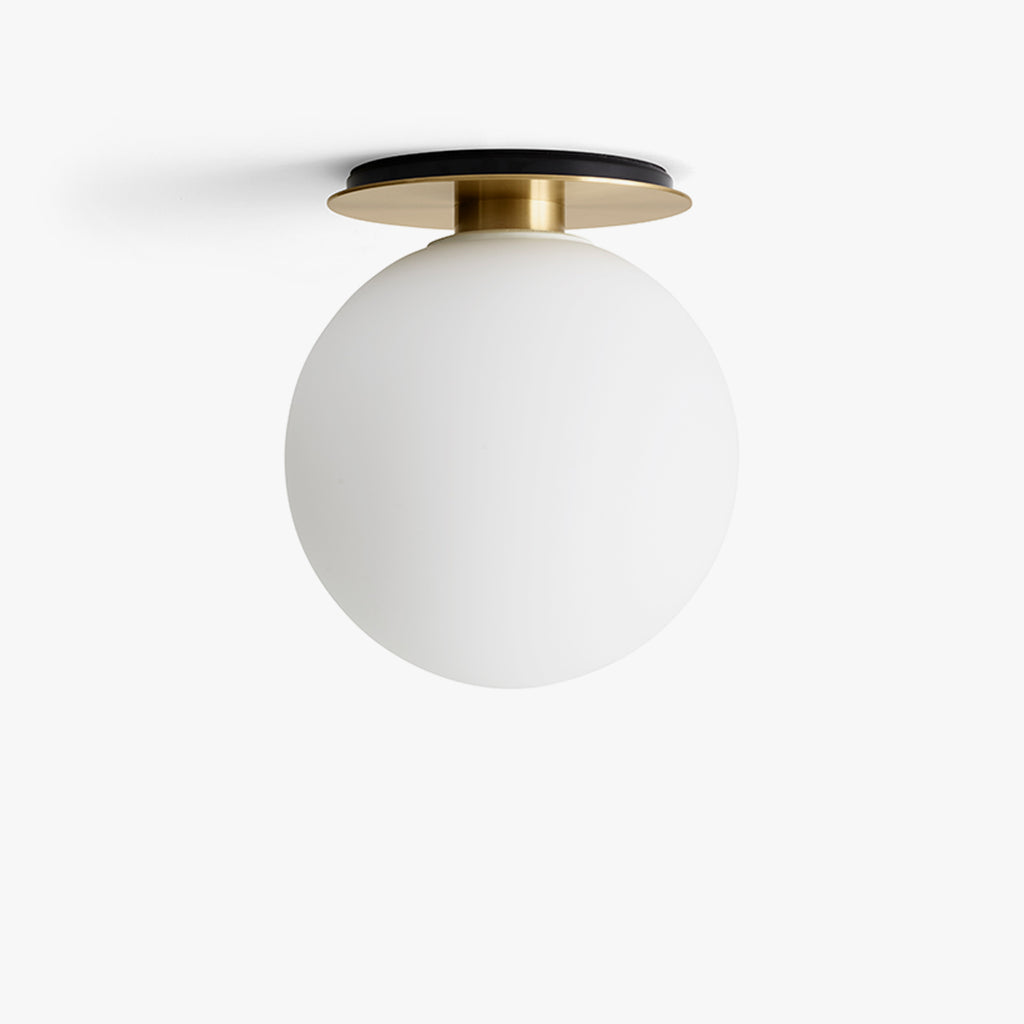 TR Bulb Ceiling/Wall Lamp, Brushed Brass