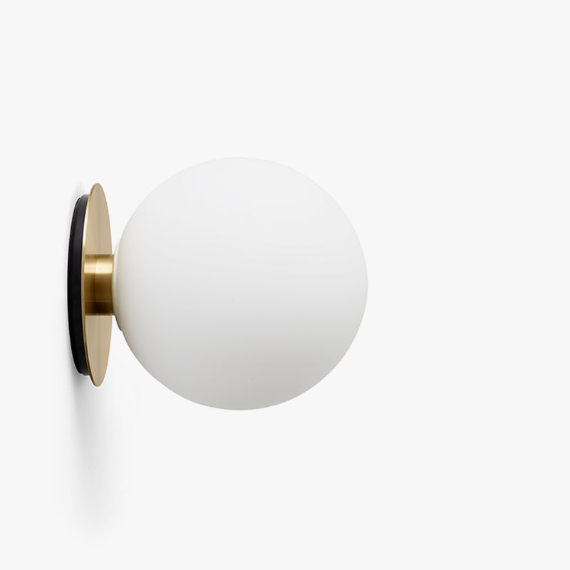 TR Bulb Ceiling/Wall Lamp | Brushed Brass