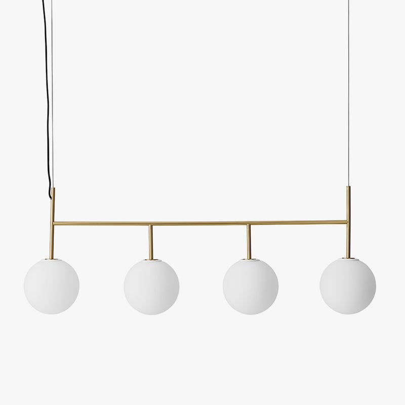 TR Bulb Suspension Frame, Brushed Brass