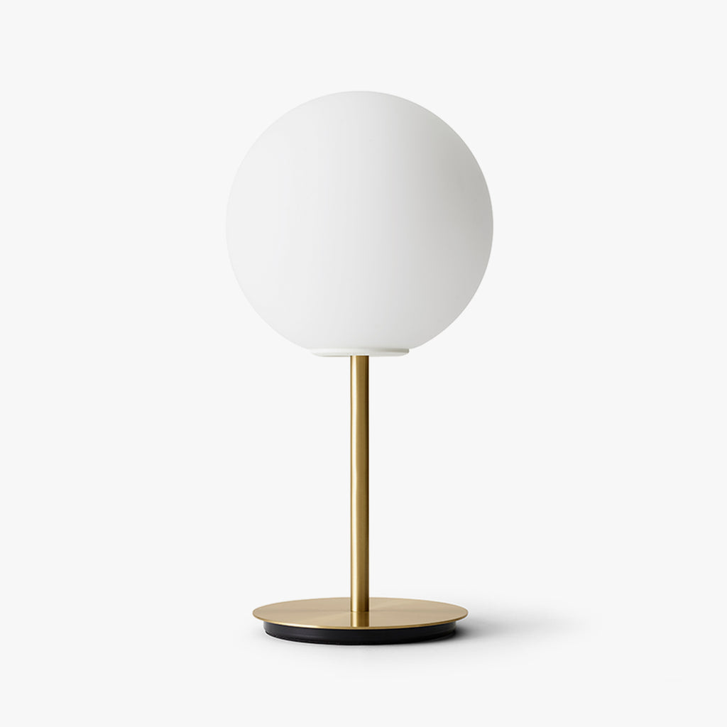 TR Bulb Table, Brushed Brass