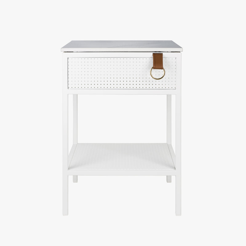 Tracy Side Table | White