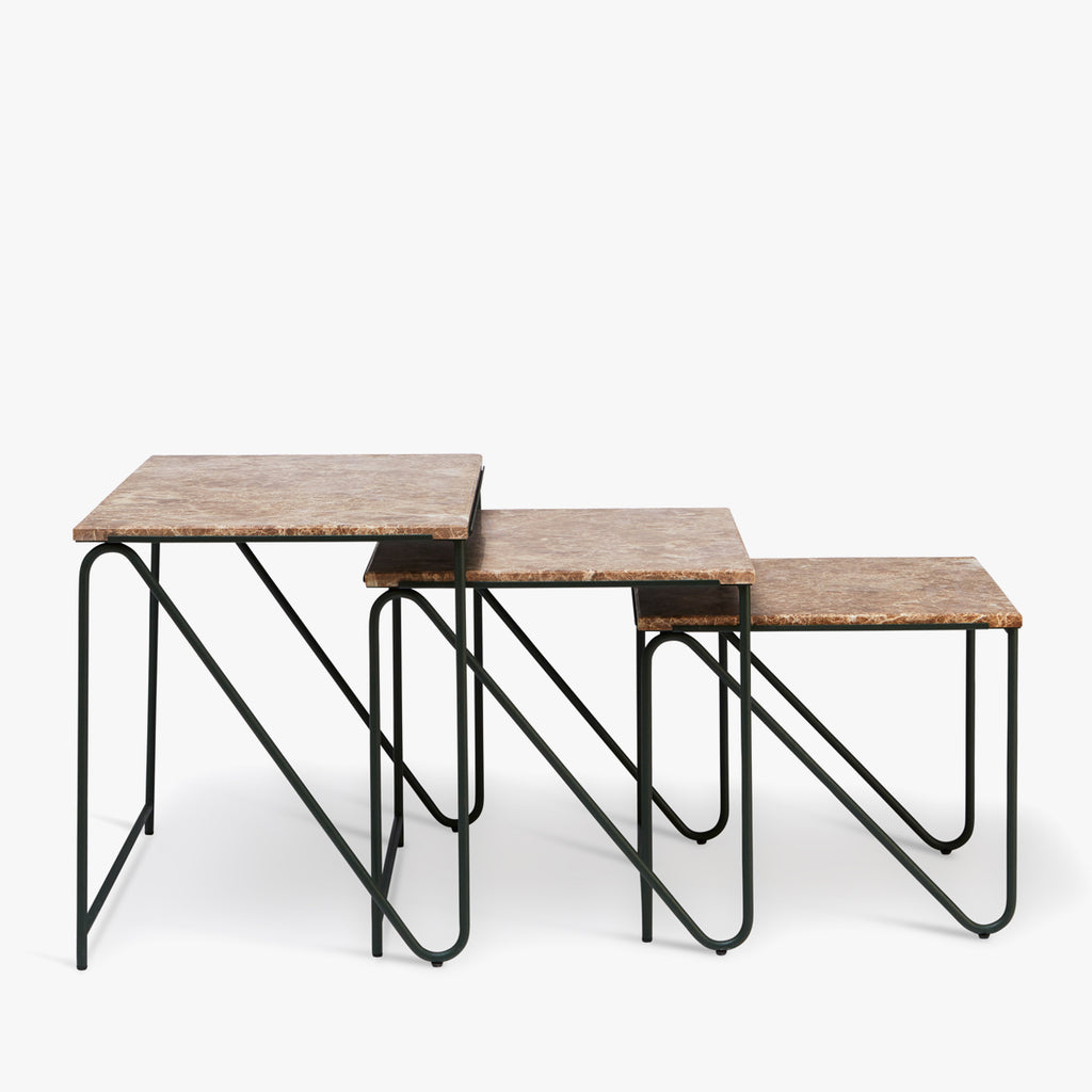 Triptych Nesting Tables