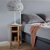 Audacious Side Table | Silver Grey
