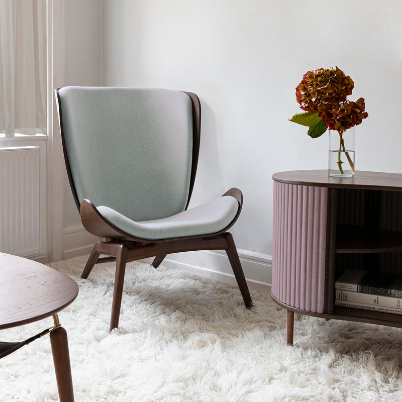 The Reader Wing Chair | Silver Grey