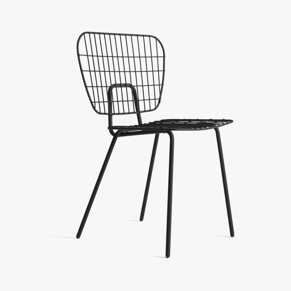 WM String Chair | Black (2pc)